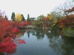 Kolam dalam kompleks Eikan-do