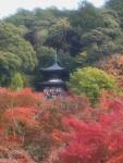 Pagoda Tahoto dalam kompleks Eikan-do