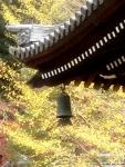 Salah satu sudut atap berlonceng kuil Nanzen-ji